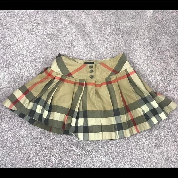 29830c6ca Burberry Dresses | Girls Serena Pleated Skirt | Poshmark